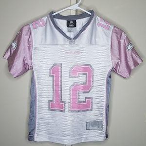 Seahawk official NFL Reebok team apparel, childs S